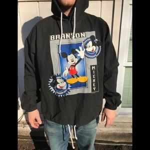 1990s Mickey Mouse hoodie! Classic! Made in USA